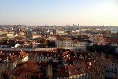 秋天的城市 库存图片