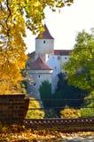 秋天的布拉格 库存图片
