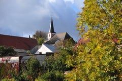 秋天的德国 库存照片