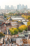 秋天的美丽的巴黎 免版税图库摄影
