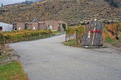 秋天的酿酒厂 免版税库存照片
