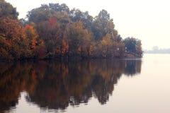 秋天的颜色 库存图片