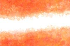 秋天红色水彩摘要或葡萄酒油漆背景 免版税库存照片