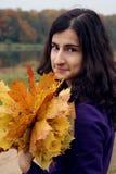 秋天纵向 图库摄影