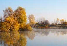 秋天美好的横向 图库摄影