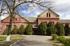 2007秋天老比拉罗斯房子 库存图片