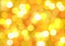 秋天背景发光的光 免版税库存照片