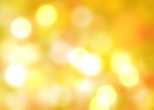 秋天背景发光的光 库存图片