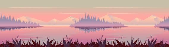 秋天背景特写镜头上色常春藤叶子橙红 自然风景向量图形,您的设计的传染媒介例证 皇族释放例证