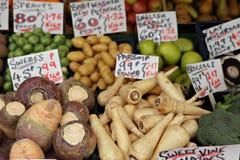 秋天英语蔬菜 库存照片