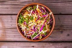 秋天菜新鲜的沙拉  库存照片