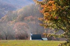 秋天西方的弗吉尼亚 免版税库存图片