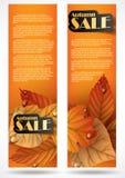 秋天销售。 图库摄影