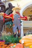 秋天题材自一间温室在贝拉焦旅馆在拉斯维加斯 库存图片