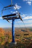 秋天颜色在加蒂诺公园 库存图片