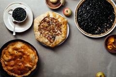 秋天饼品种  图库摄影