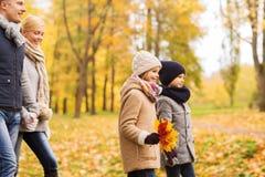 秋天系列愉快的公园 免版税库存照片