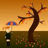 秋天 向量 库存照片