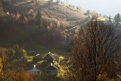 秋天 喀尔巴汗,乌克兰,欧洲 库存图片