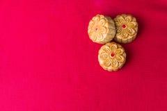 秋天结块中国节日食物中间月亮传统白色 免版税图库摄影