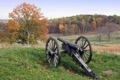 秋天gettysburg 图库摄影
