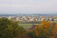 秋天gettysburg 库存照片
