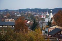 秋季城市 库存照片
