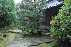 秋季Shisen寺庙 图库摄影