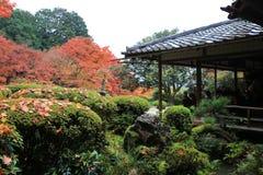 秋季Shisen寺庙 免版税库存图片