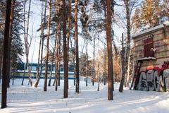 秋明州,俄罗斯, 1月31日 2016年:在修造的墙壁上的街道画 免版税库存图片