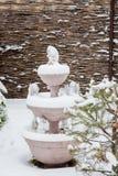 秋明州,俄罗斯- 11月06 2016年:与雕塑的风景 库存照片