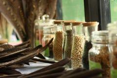 种子瓶 免版税库存图片
