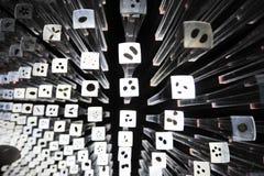 种子:中国人2010年上海商展英国亭子 库存照片