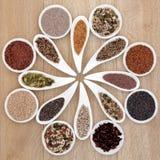 种子Superfood 免版税库存照片