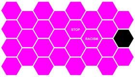 种族主义终止 免版税库存图片