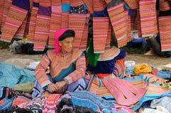 种族人在越南 免版税库存图片