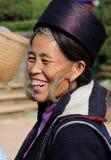 种族人在越南 库存照片