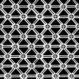 种族几何无缝的样式 库存图片