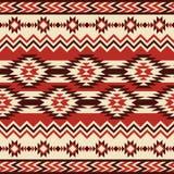 种族几何模式 库存照片