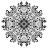 种族圆的装饰品 手拉的坛场 皇族释放例证