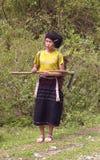 种族女性lu 免版税图库摄影