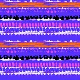 种族手画传染媒介无缝的样式 向量例证