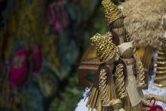 种族木偶 免版税图库摄影
