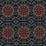 种族样式装饰backgrund 免版税库存图片