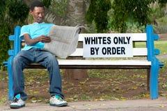 种族歧视 库存照片