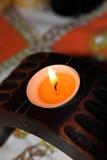 种族的蜡烛 库存照片