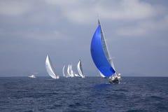 种族航行 免版税库存图片
