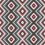种族装饰品几何无缝的样式 库存图片