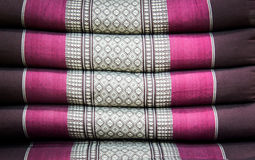 种族装饰纺织品几何主题样式 库存图片