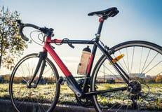 种族路自行车 库存图片